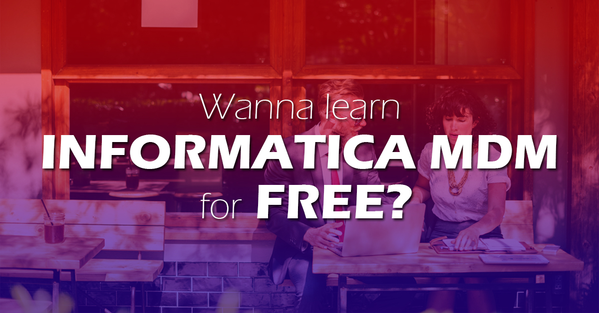 100% Free Informatica MDM Training and Tutorial Series - the