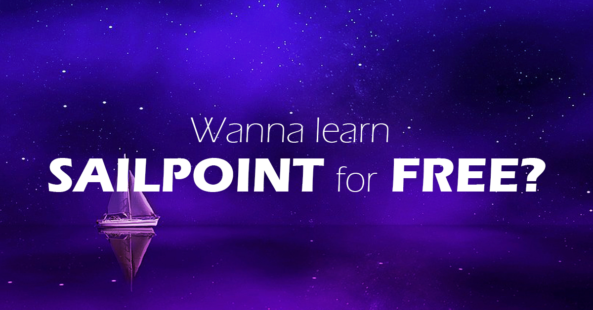 100% Free sailpoint Training and Tutorial Series - the only