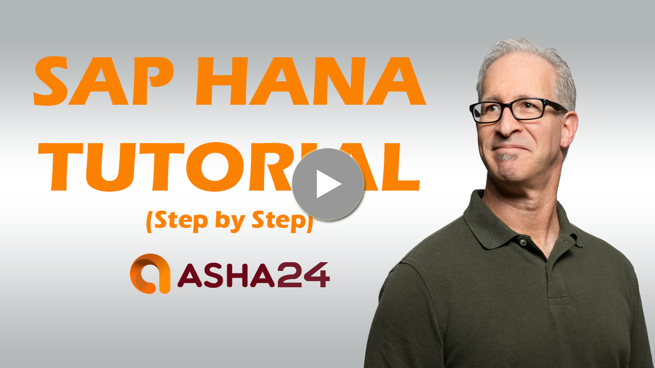 SAP HANA Training - the only Database course you need